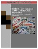 Báo cáo Bình đẳng giới trong các quảng cáo tuyển dụng trên báo in