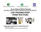 Bài giảng Các phương pháp phân tích PCBs