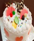 10 bước làm bánh kem sinh nhật đơn giản tại nhà