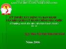 Bài giảng Kỹ thuật xây dựng và ban hành văn bản quản lý hành chính Nhà nước: Chương 3 - ThS. Tạ Thị Thanh Tâm
