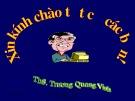 Bài giảng Quản lý Nhà nước nhập môn Hành chính công: Chương 1 - ThS. Trương Quang Vinh