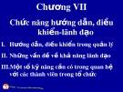 Bài giảng Quản trị học đại cương: Chương 7 - ThS. Trương Quang Vinh