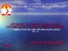 Bài giảng Kỹ thuật xây dựng và ban hành văn bản quản lý hành chính Nhà nước: Chương 1 - ThS. Tạ Thị Thanh Tâm