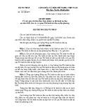 Quyết định số: 48/QĐ-BTP