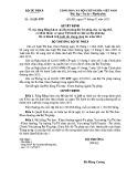 Quyết định số: 30/QĐ-BTP
