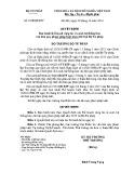 Quyết định số: 3540/QĐ-BTP
