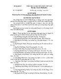 Quyết định số: 1373 /QĐ -BTP