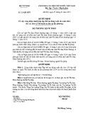 Quyết định số: 28/QĐ-BTP