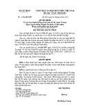 Quyết định số: 1458/QĐ-BTP