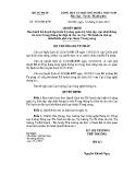 Quyết định số: 1063/QĐ-BTP
