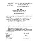 Quyết định số: 4204/QĐ-BTP