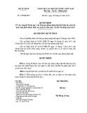 Quyết định số: 229/QĐ-BTP