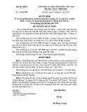 Quyết định số: 29/QĐ-BTP