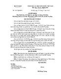 Quyết định số: 2217/QĐ-BTP