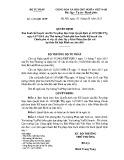 Quyết định số: 1452/QĐ - BTP