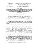 Quyết định số: 1112/QĐ- BTP