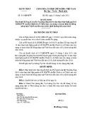 Quyết định số: 919/QĐ-BTP