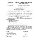 Quyết định số: 79/QĐ-BTP