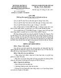 Quy chế số: 14/2013/QCLN/BTP-BCA-TANDTC-VKSNDTC