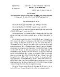 Quyết định số: 189/QĐ-BTP