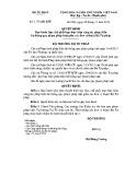Quyết định số: 3173/QĐ-BTP
