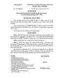 Quyết định số: 1543/QĐ-BTP