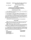 Quyết định số: 1108/QĐ-BTP