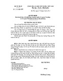 Quyết định số: 2153/QĐ-BTP