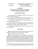 Quyết định số: 227/QĐ-BTP