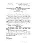Quyết định số: 73 1/QĐ-BTP