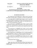 Quyết định số: 2428/QĐ-BTP