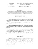 Quyết định số: 1997/QĐ-BTP