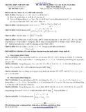Đề thi thử đại học và cao đẳng năm 2014 môn: Toán - Trường THPT chuyên Nguyễn Đình Chiểu (Có đáp án)