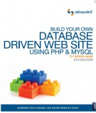 Ebook Build your own Database driven Website using PHP & My SQL: Part 2