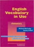 Ebook Vocabulary English in use elementary