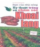Ebook Bạn của nhà nông - Kỹ thuật trồng và chăm sóc khoai lang: Phần 1