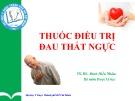 Bài giảng Thuốc điều trị đau thắt ngực - TS.BS. Đinh Hiếu Nhân