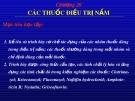 Bài giảng Chương 20: Các thuốc điều trị nấm