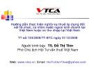 Bài giảng Hướng dẫn thực hiện nghĩa vụ thuế áp dụng đối với tổ chức, cá nhân nước ngoài kinh doanh tại Việt Nam hoặc có thu nhập tại Việt Nam - TS. Đỗ Thị Thìn