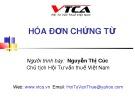 Bài giảng Hóa đơn chứng từ - Nguyễn Thị Cúc