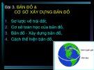 Bài giảng Hệ thống thông tin địa lý (GIS) trong lâm nghiệp: Bài 3 - ThS. Nguyễn Quốc Bình