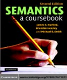 Ebook Semantics a coursebook: Part 1