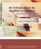 Ebook An Introduction to Applied Linguistics (From practice to theory): Part 1