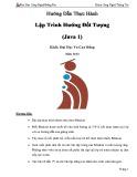 Hướng dẫn thực hành: Lập trình hướng đối tượng (Java 1)