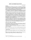 Bài giảng Bóc tách động mạch chủ - TS. Đỗ Kim Quế