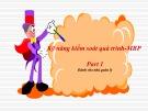 Bài giảng Kỹ năng kiểm soát quá trình - MBP - Phần 1: Dành cho nhà quản lý