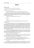 Bài giảng Mô phôi: Mô cơ