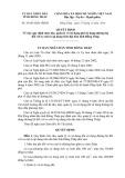 Quyết định số: 38/2014/QĐ-UBND tỉnh Đồng Tháp