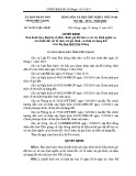 Quyết định số: 28/2015/QĐ-UBND tỉnh Tiền Giang