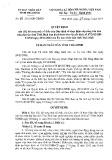 Quyết định số: 06/2015/QĐ-UBND tỉnh Thái Bình